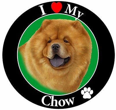 Chow Chow Car Magnet