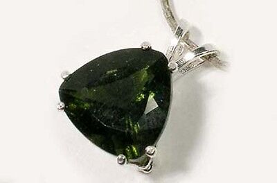 Rare 19thC Antique 6ct Czech Moldavite Meteorite Cro-Magnon Venus of Willendorf