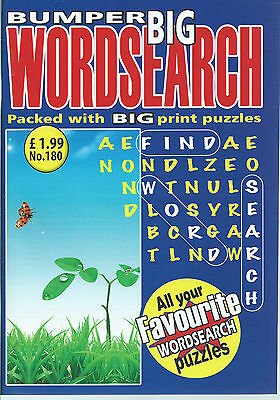 3 Big Word Search Magazines Most With 90+ Puzzles Solutions In Back (Set 56)