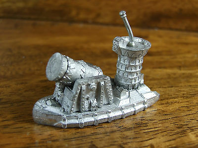 Classic Metal Man O War Chaos Dwarf Great Leveller Battle Barge Unpainted (2517)