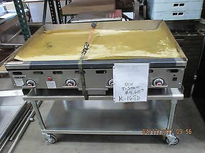 """Vulcan 48"""" t-stat Griddle, 48"""" x 24"""" Cooking Surface"""