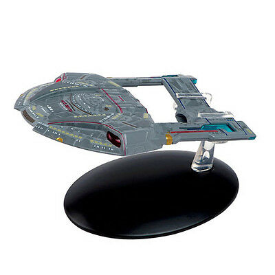 #54 Star Trek STEAMRUNNER Class Die Cast Metal Ship-UK/Eaglemoss w Mag