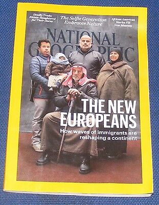 National Geographic Magazine October 2016 - Millennials And Parks/new Europeans