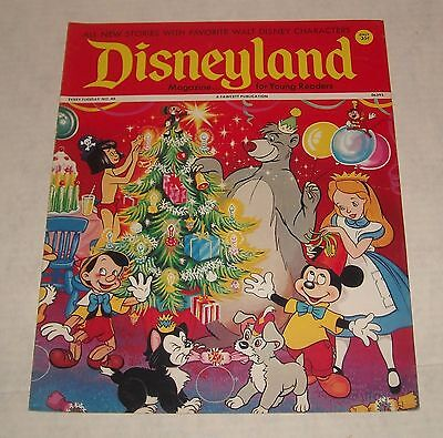 Fawcett DISNEY 1972 DISNEYLAND MAGAZINE #45 BEAUTIFUL CHRISTMAS Cover SCROOGE