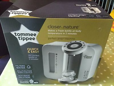 Tommee Tippee Closer to nature perfect prep milk machine barely used & mint.