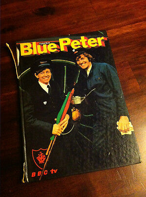 Vintage Bbc Tv Blue Peter Annual Eighth Book 1971