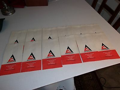Vintage Lot of Twelve ( 12 ) Allis Chambers Small Parts  Advertising Bags - AA