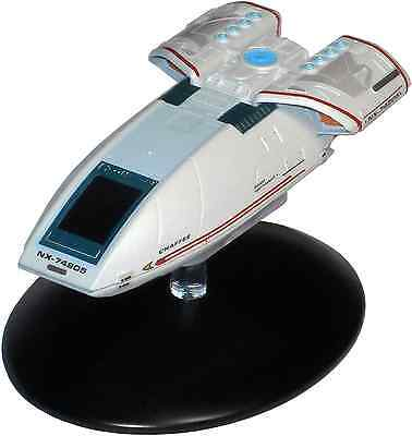 SH-03- Star Trek Shuttlecraft Type-10 (Chaffee) Metal Ship-UK/Eaglemoss w Mag