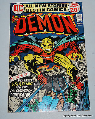 Demon 1 DC 1972 VF/NM 1st Etrigan the Demon Jason Blood Justice League Dark