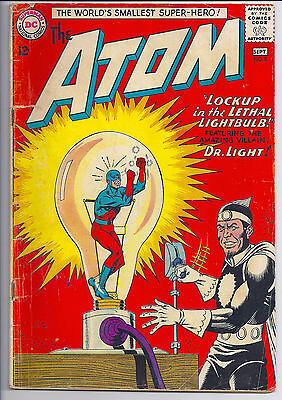 The Atom #8 1963 Kane Anderson Art Dc Silver Age! Vg