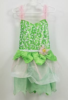 Disney Fantasy Play Costume  Size 4 - 6 Tinkerbell - Little Girls Dress Up