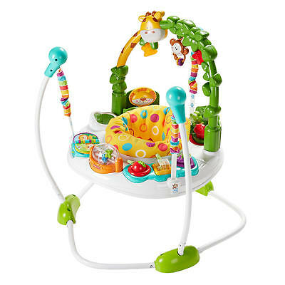 New Fisher-Price Go Wild Jumperoo Activity Center Model:25199195