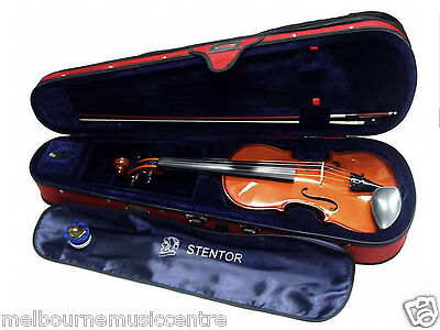 STENTOR VIOLIN PACK 3/4 SIZE (3 QUARTER) *Supplied With Case, Bow, Rosin* NEW!