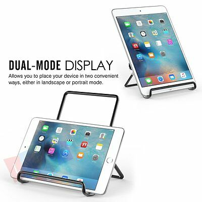 Foldable Tablet Stand Mounts Adjustable Portable Metal Holder Cradle For IPAD