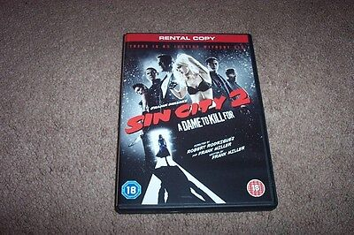 Sin City 2  'A Dame to Kill For'  Brand New Rental DVD