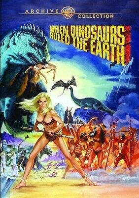 When Dinosaurs Ruled The Earth (2017, REGION 1 DVD New)
