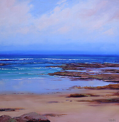 Large oil Painting Original Beach Painting Large Wall Art Fine art by G. Gercken