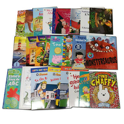 Joblots Wholesale of 50  Childrens Pre-school stories Book Collection Set Pack