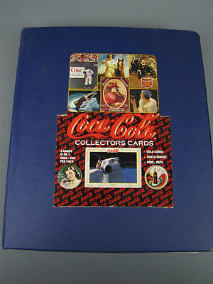 1990's Book Binder Coca-Cola Collector Cards Lot 450+