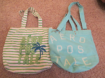 Lot of 2 Aeropostale Shoulder Bags
