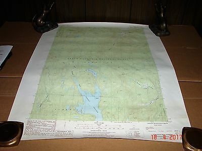 1986 Stratton Mtn. Vt., Vermont, Green Mountain National Forest Topographic Map