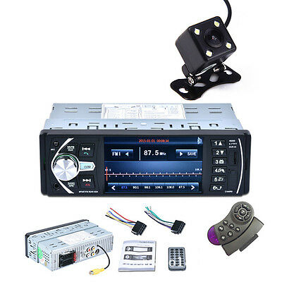 HD 1DIN Car Audio FM/MP5 Radio Player Bluetooth Touch Screen In Dash Stereo