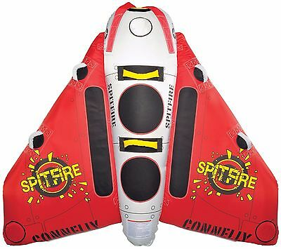 Connelly Spitfire Tube Two person Inflatable Tow Behind - Plane Style - Fully Co