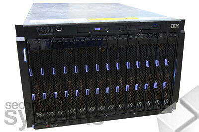 IBM BladeCenter E Blade 7U Server 14x HS20 Server 2x Intel Xeon 2,8GHz / 4GB RAM
