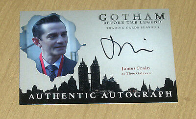 2017 Cryptozoic Gotham season 2 autograph card James Frain as THEO GALAVAN