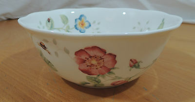 """Butterfly Meadow MONARCH by Lenox Large All Purpose Bowl 7"""""""