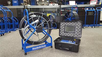 Sewer Video Drain Pipe Cleaner Snake Inspection Camera 130' COLOR w/ SONDE