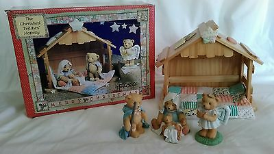 Cherished Teddies Nativity Complete with Box and Certificates