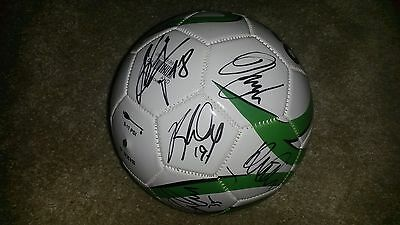 "Superb Norwich City Football Signed By 20 - ""proof"""