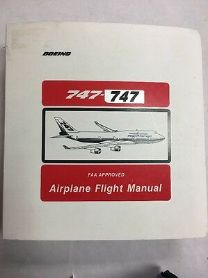 Boeing 747 FAA Approved Airplane Flight Manual