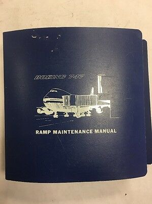 Boeing 747 Saudi Arabian Airlines Original Ramp Maintenance Manual
