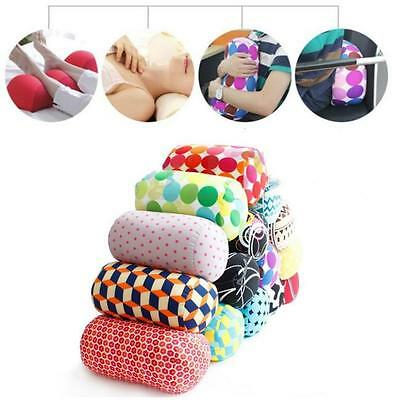 Micro Beads Travel Roll Cushion Pillow for Wrist Back Head Neck Support New LA