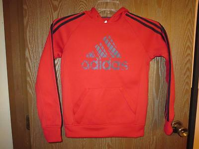NEW-mended Youth Adidas Red Hoodie M Medium size 10/12 71HN