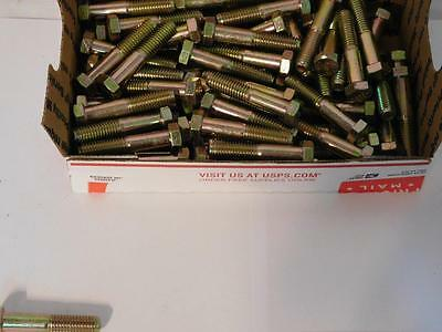 "(75) 7/16""-14 x 2-1/4"" Long Grade 8 Hex Bolts ~ FREE SHIPPING IN USA"