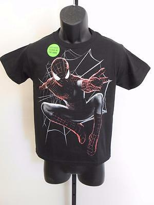 New Glow In Dark Marvel Amazing Spiderman Youth Large L Size (10/12) Shirt 69Qt