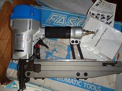 "Fasco F45C G-55 SS 16 Gauge Pneumatic Staple gun 7/16"" crown Air Stapler"