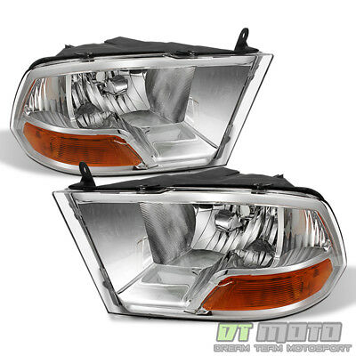 2009 2010 2011 2012 2013 2014 2015 2016 2018 Dodge Ram 1500 2500 3500 Headlights