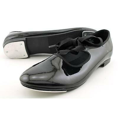 Dance Class By Trimf Beginning Tap Shoe Women US 8 Black Pre Owned  1069