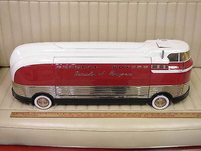 RETRO 1-2-3 GM General Motors Futurliner Limited #031/325  heavy metal Model