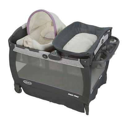 New Graco Pack 'n Play Playard With Cuddle Cove Removable Vibrating Seat - Janey