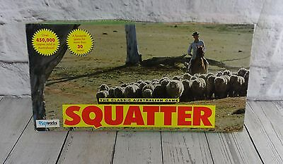 Vintage Squatter Board Game The Australian Wool Game