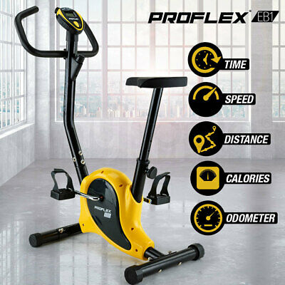 NEW Proflex Exercise Bike Fitness Training Bicycle Home Gym Trainer Cycle Spin