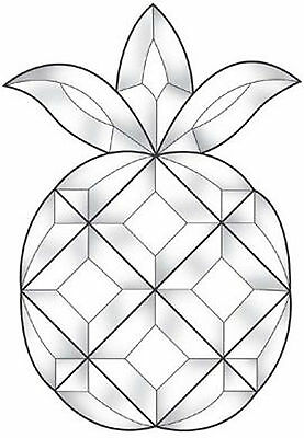 Stained Glass Supplies Pineapple Bevel Cluster EC125