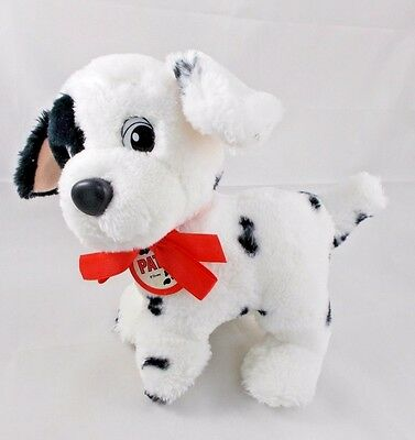 "Disney 101 Dalmatian PATCH Plush Dog 8.5"" 1991"
