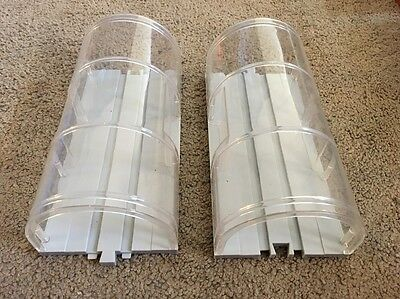 (AM) Lot Of 2 Tomy Thomas Train Replace Parts Road & Rail System Clear Tunnel