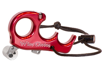Wise Choice Carter Release 4 Finger Red